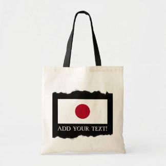 Bolsa Tote Bandeira japonesa