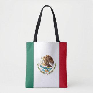 Bolsa Tote Bandeira mexicana patriótica