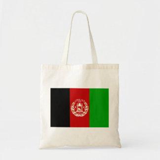 Bolsa Tote Bandeira nacional do mundo de Afeganistão