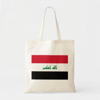 Bolsa Tote Bandeira nacional do mundo de Iraque