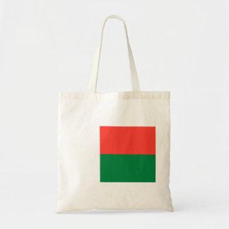 Bolsa Tote Bandeira nacional do mundo de Madagascar