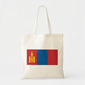 Bolsa Tote Bandeira nacional do mundo de Mongolia