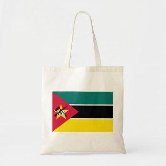 Bolsa Tote Bandeira nacional do mundo de Mozambique