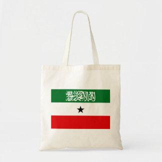 Bolsa Tote Bandeira nacional do mundo de Somaliland