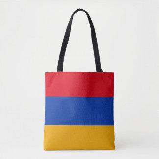 Bolsa Tote Bandeira patriótica de Arménia