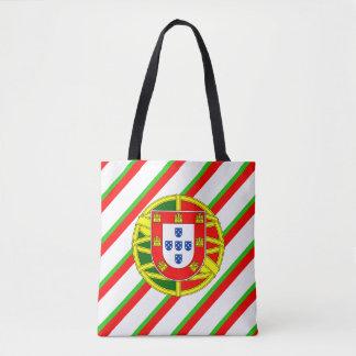 Bolsa Tote Bandeira portuguesa das listras
