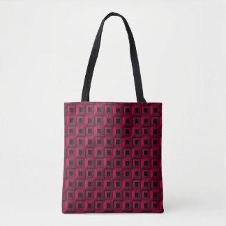 Bolsa Tote Barnacle no rosa por todo o lado na sacola do