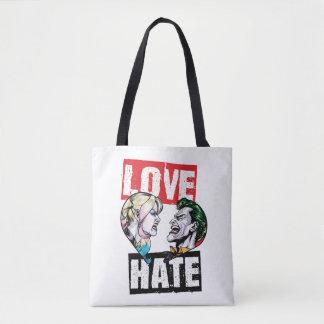 Bolsa Tote Batman | Harley Quinn & amor do palhaço/ódio