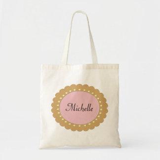 Bolsa Tote Bebé cor-de-rosa sacolas personalizadas da fralda
