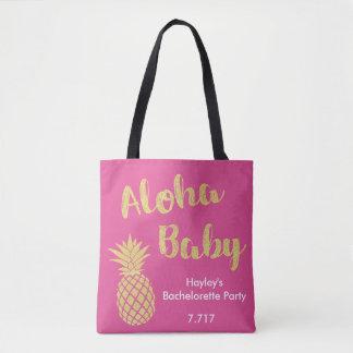 Bolsa Tote Bebê do saco de Bachelorette Aloha!