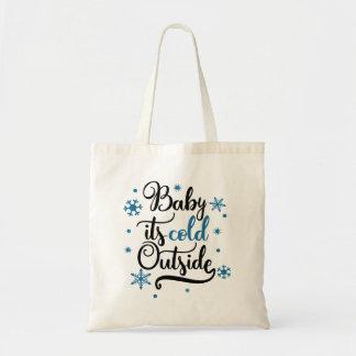 Bolsa Tote Bebê é inverno exterior frio
