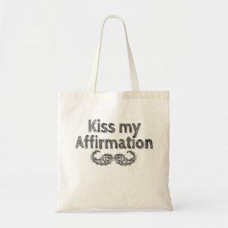 Bolsa Tote Beije minha sacola da afirmação