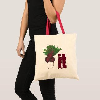 Bolsa Tote Beterraba (batida) ele vegetal engraçado Foodie