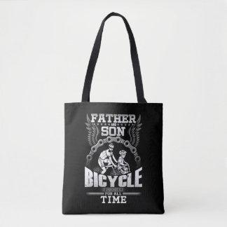 Bolsa Tote Bicicleta do filho do pai