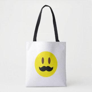 Bolsa Tote Bigode Emoji
