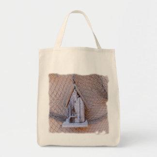 Bolsa Tote Birdhouse da madeira lançada costa