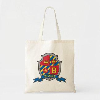 Bolsa Tote Blaine caçoa o saco conhecido da biblioteca do