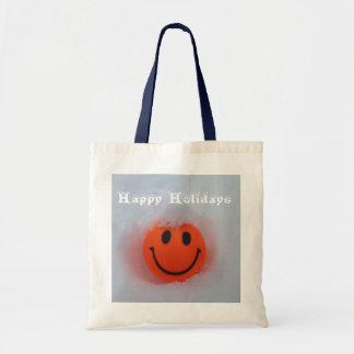 Bolsa Tote Boas festas smiley