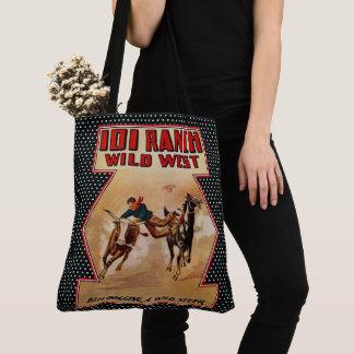 Bolsa Tote Boi ocidental do vaqueiro do rancho do rodeio 101