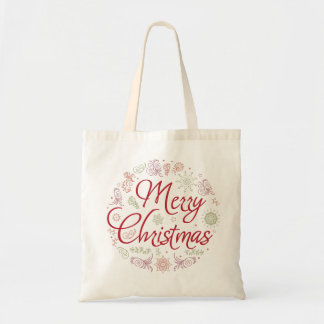 Bolsa Tote Bola do Feliz Natal