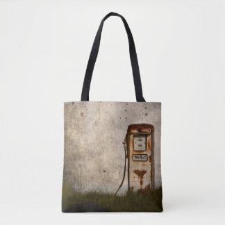Bolsa Tote Bomba de gás antiga velha oxidada