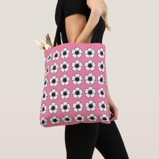 Bolsa Tote Bonito & Pink_Cottage_Flowers (c) -