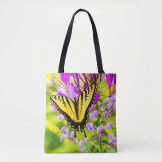 Bolsa Tote Borboleta amarela de Swallowtail