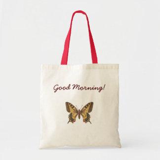 Bolsa Tote Borboleta amarela do swallowtail - Papilio Machaon