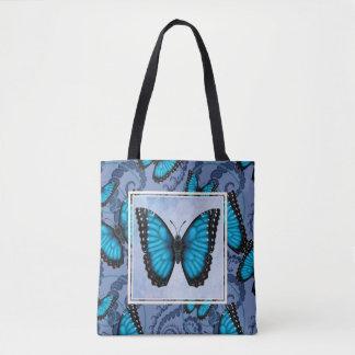 Bolsa Tote Borboleta azul de Morpho