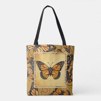 Bolsa Tote Borboleta de monarca