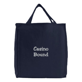 Bolsa Tote Bordada Limite do casino