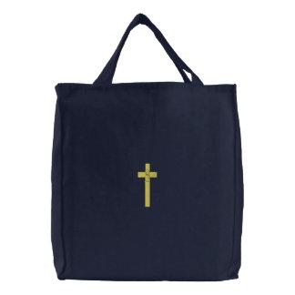 Bolsa Tote Bordada Menino do batismo
