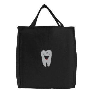 Bolsa Tote Bordada Saco bordado dentista