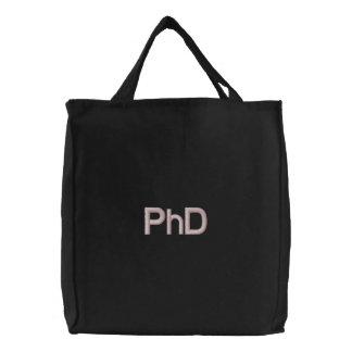 Bolsa Tote Bordada Saco bordado PhD