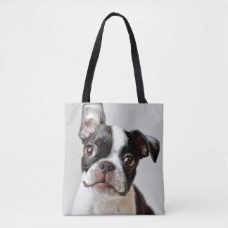 Bolsa Tote Boston Terrier