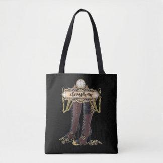 Bolsa Tote Botas da forma de Steampunk