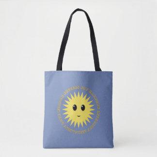 Bolsa Tote Brilho bonito de Sun