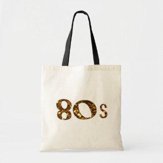 Bolsa Tote brilho do ouro da nostalgia 80s