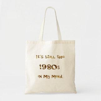 Bolsa Tote brilho do ouro da nostalgia dos anos 80