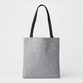 Bolsa Tote Brilho Stars4 - Prata