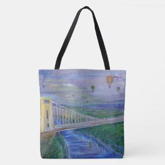 Bolsa Tote Bristol - ponte de suspensão de Clifton