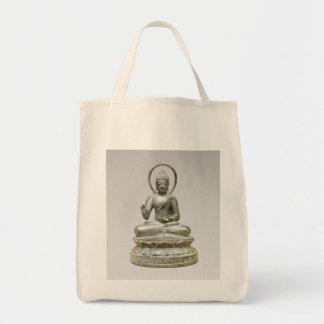 Bolsa Tote Buddha transcendente assentado
