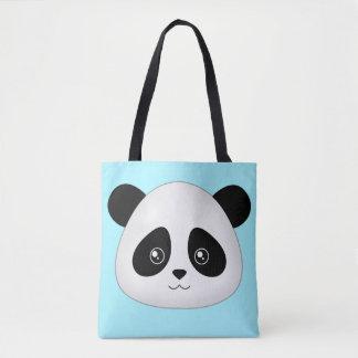 Bolsa Tote Cabeça bonito da cara dos animais dos desenhos