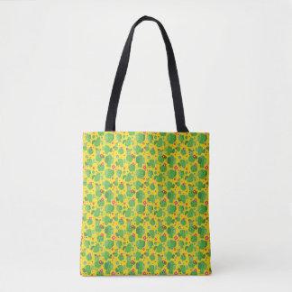 Bolsa Tote Cacto mim parte externa (amarelo) - sacola