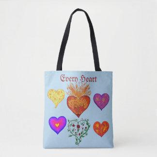Bolsa Tote Cada coração