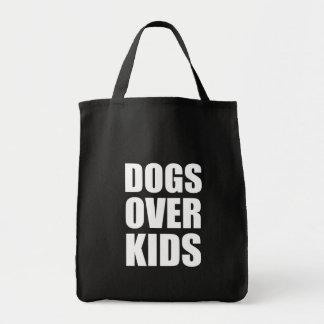 Bolsa Tote Cães sobre citações engraçadas dos miúdos