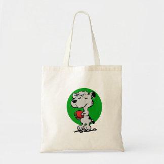 Bolsa Tote Café do bebendo do cão