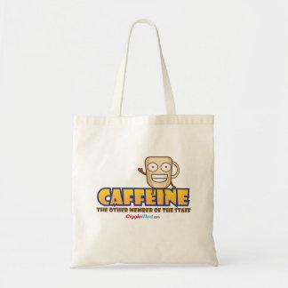 Bolsa Tote Cafeína, o outro membro dos funcionarios