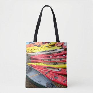 Bolsa Tote caiaque coloridos