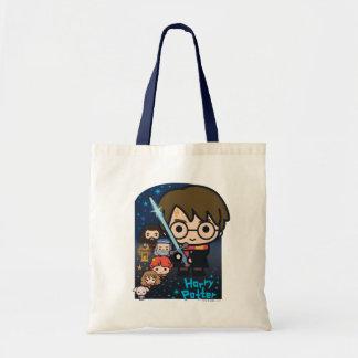 Bolsa Tote Câmara de Harry Potter dos desenhos animados dos
